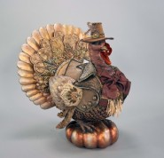 Katherine's Collection Gilded Seasons Tabletop Turkey