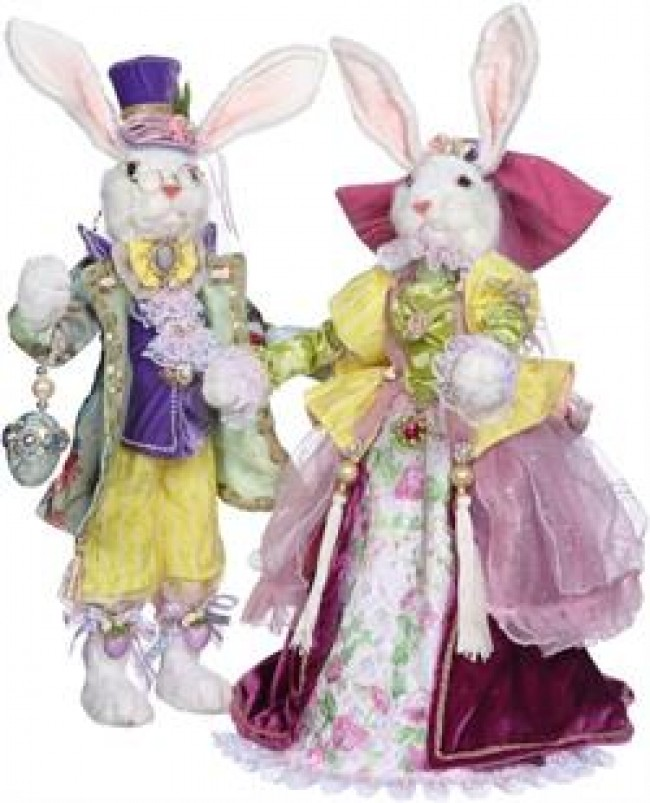 Mark Roberts Mr & Mrs Royal Court Rabbit