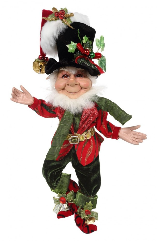 Mark Roberts Bah Humbug Elf 11""