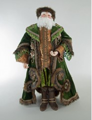 Katherine's Collection Spice Traditions Santa Doll