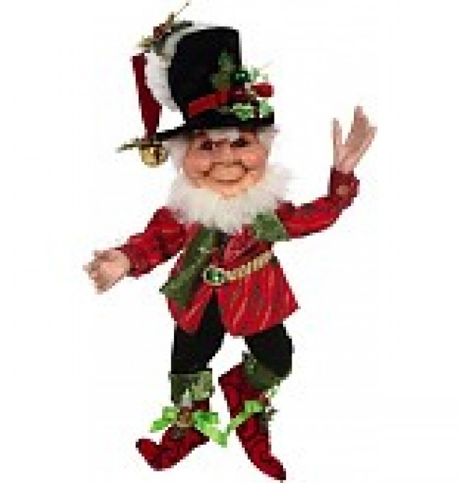 Mark Roberts Bah Humbug Elf 20""